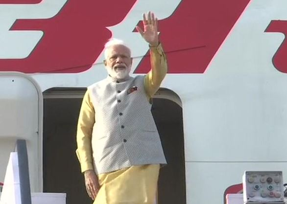 Prime Minister Narendra Modi embarked on a two-day visit to the Kyrgyz capital