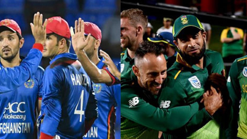South Africa-Afghanistan teams