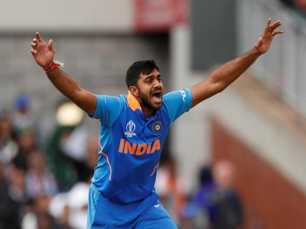 Indian all-rounder Vijay Shankar