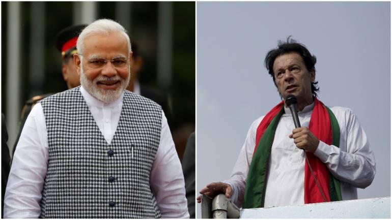 Prime Minister Narendra Modi and Pakistan PM Imran Khan