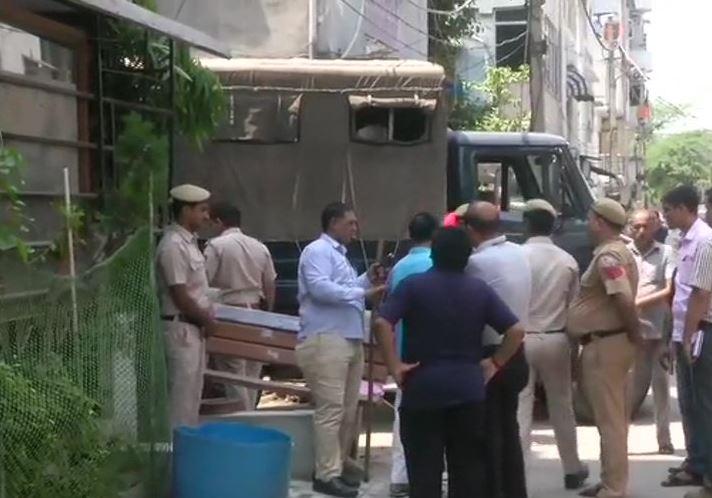 Murder case in Delhi