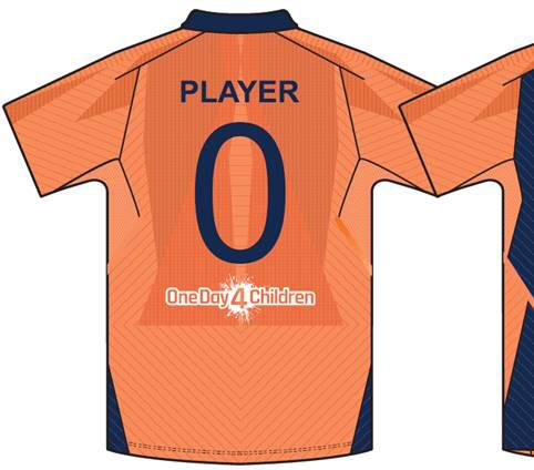 Orange colour  jersey