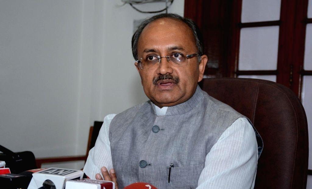 Health Minister Sidharth Nath Singh