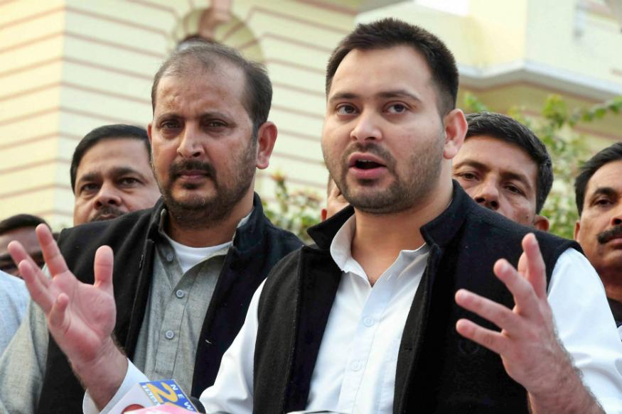 Leader of Opposition Tejashwi Yadav
