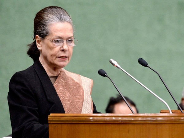 Congress Parliamentary Party chief Sonia Gandhi