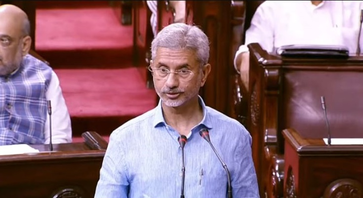External Affairs Minister S Jaishankar taking oath