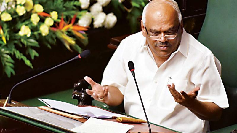 Speaker KR Ramesh Kumar
