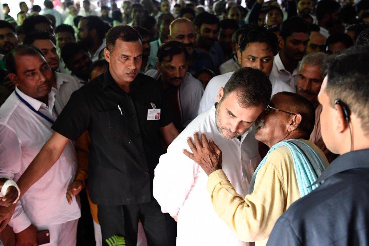 Rahul Gandhi  visits  Amethi