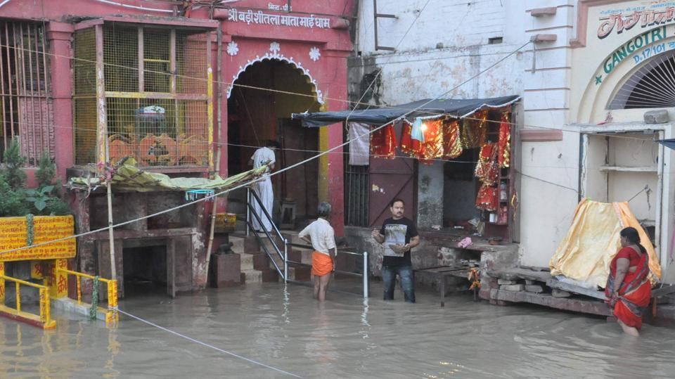 Prayagraj faces flood-like situation