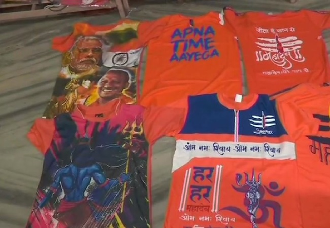 A sight of the T-Shirts