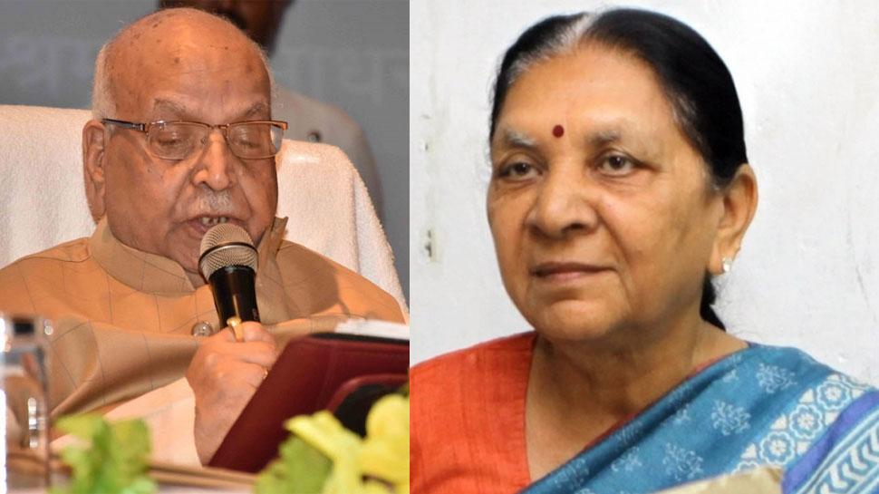 Anandiben Patel  and Lalji Tandon