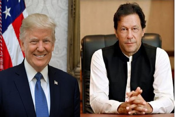 US President Donald Trump and Pak Prime Minister Imran Khan