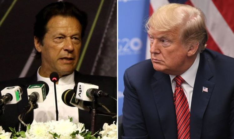 Prime Minister of Pakistan Imran Khan and United States President Donald Trump