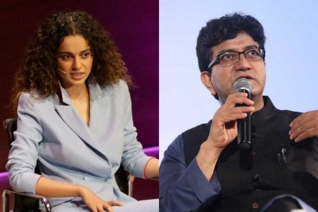 Prasoon Joshi and Kangana Ranaut