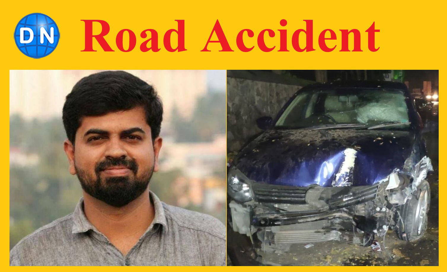 KM Basheer, a Kerala-based journalist killed in a road accident in Thiruvananthapuram