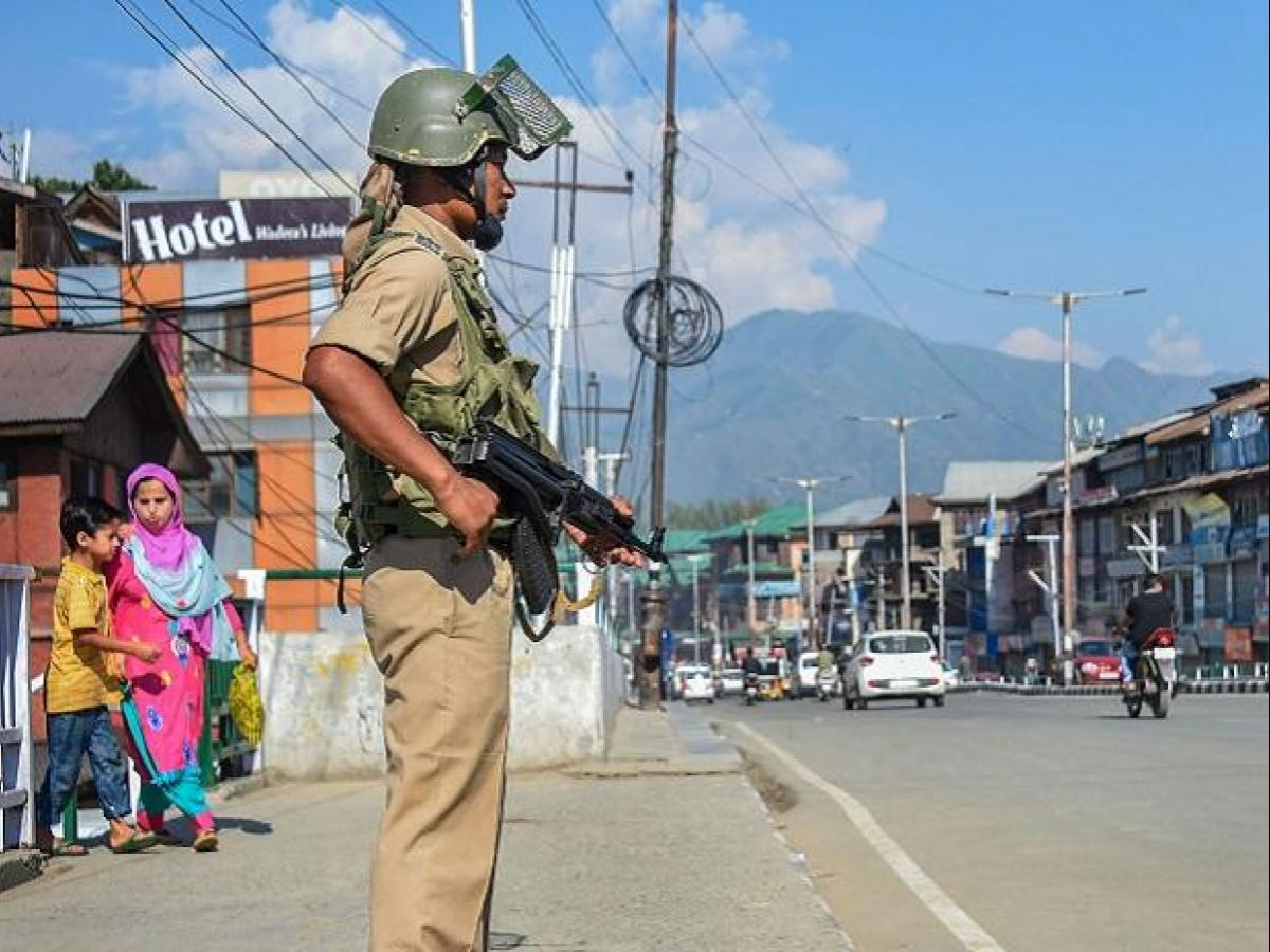 Normalcy in Jammu and Kashmir