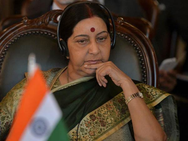 Former External Affairs Minister Sushma Swaraj