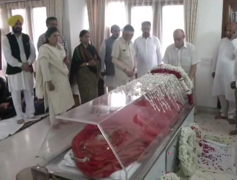 Mortal Remains of Former external affairs minister Sushma Swaraj