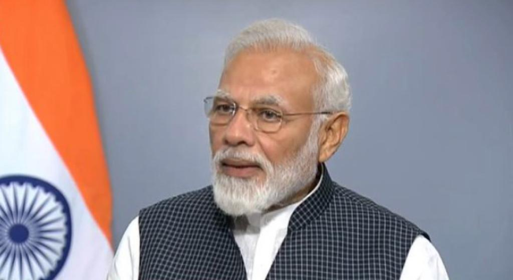 PM Modi during his address to the Nation