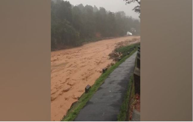 Two people have died due landslide after heavy rain