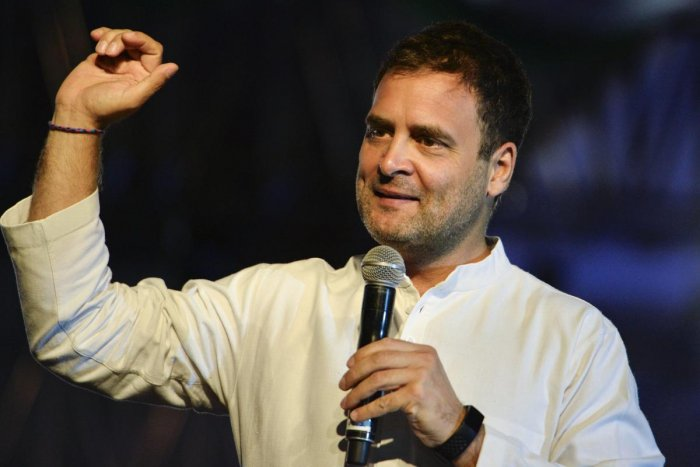 President Rahul Gandhi