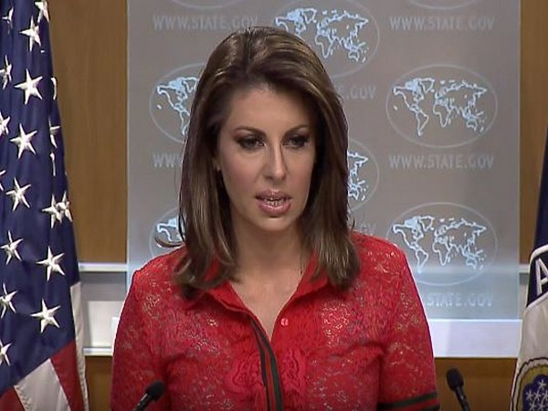 US State Department spokesperson Morgan Ortagus