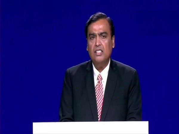 Chairman and Managing Director of Reliance Industries Ltd Mukesh Ambani