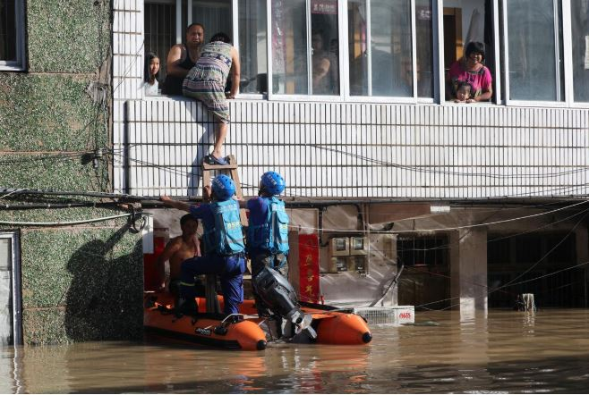 Flood in China