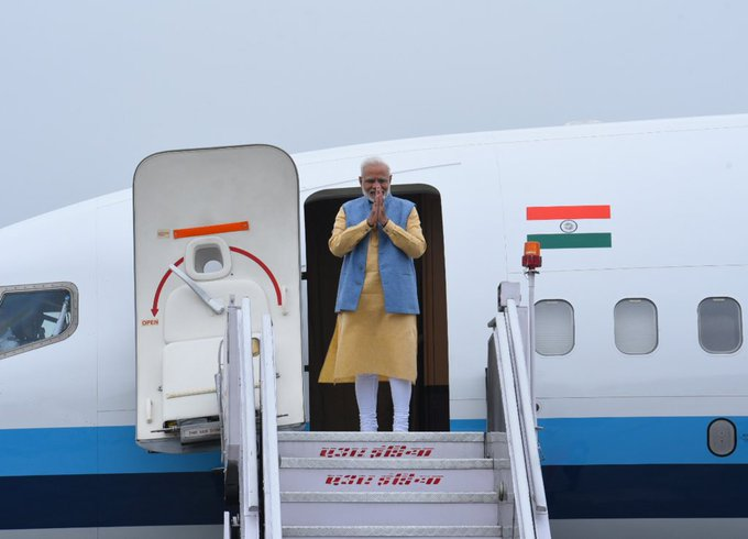 Prime Minister Narendra Modi leaves for a two-day state visit to Bhutan
