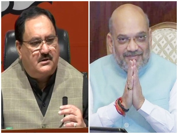 BJP Leaders JP Nadda &  Amit Shah (File Photo)