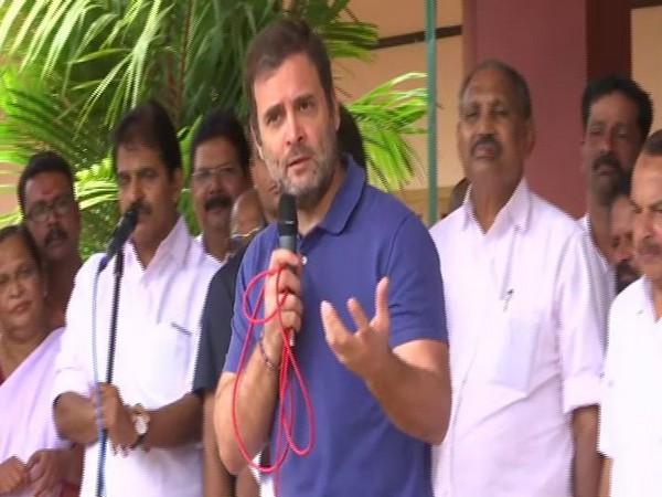Congress MP from Wayanad, Rahul Gandhi