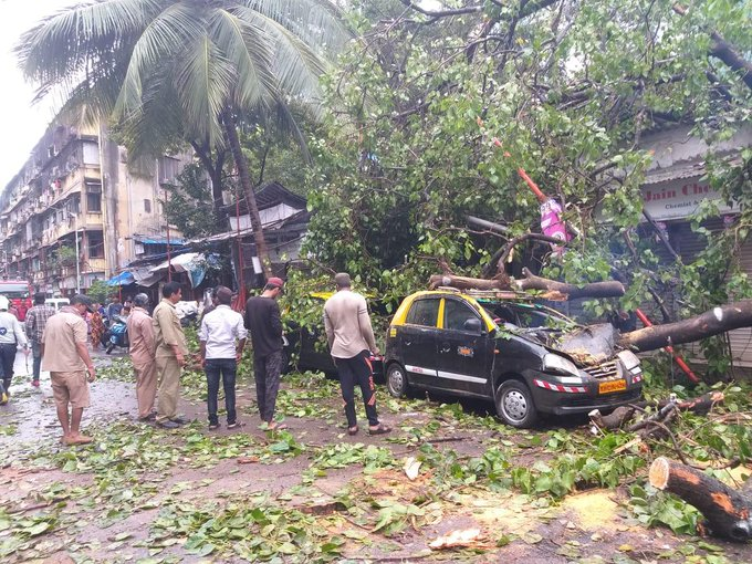 Road Accident in Mumbai