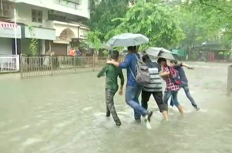 Sion area gets water-logged following rainfall in the city