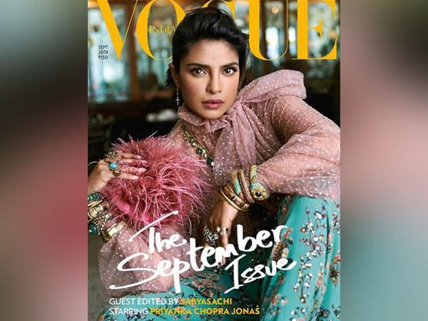 Priyanka Chopra on Vogue cover