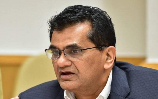 Niti Aayog Chief Executive Officer Amitabh Kant