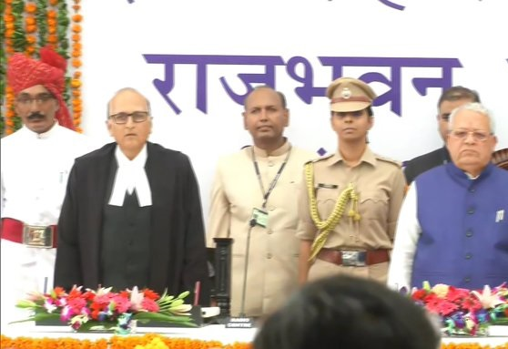 Kalraj Mishra sworn in as Raj Governor