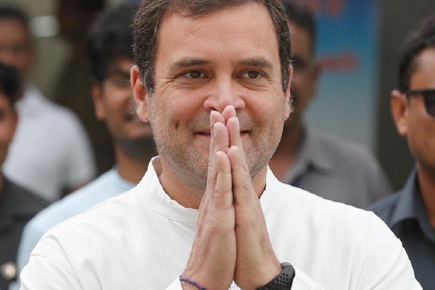 Congress leader Rahul Gandhi