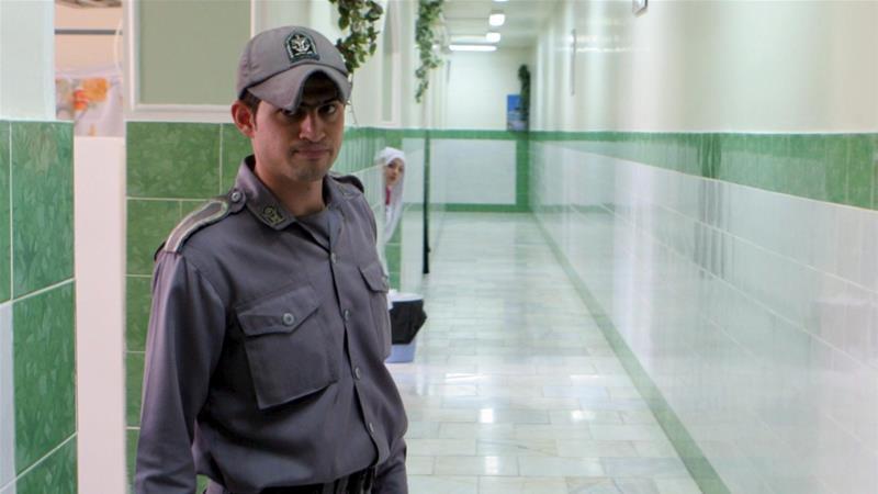 a gaurad at the jail