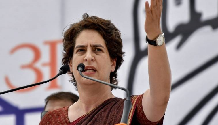 Priyanka Gandhi on Jalaun incident: Those who vandalised Gandhi statue are cowards