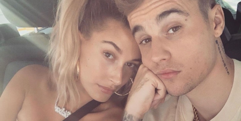 Hailey Baldwin and Justin Bieber