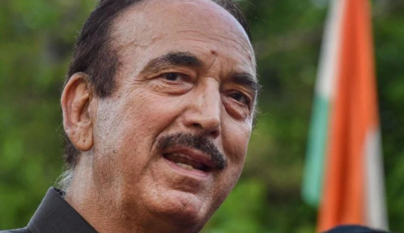Congress leader Ghulam Nabi Azad
