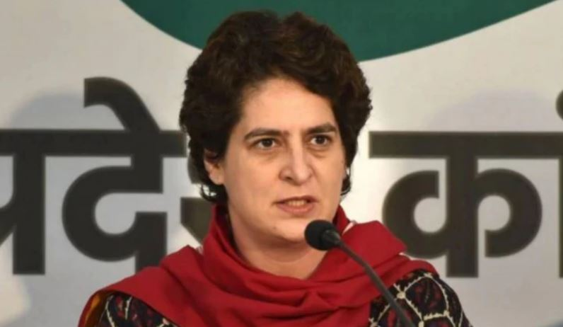 Priyanka Gandhi hits out at Centre, says mere talking about 5 trillion economy won't help