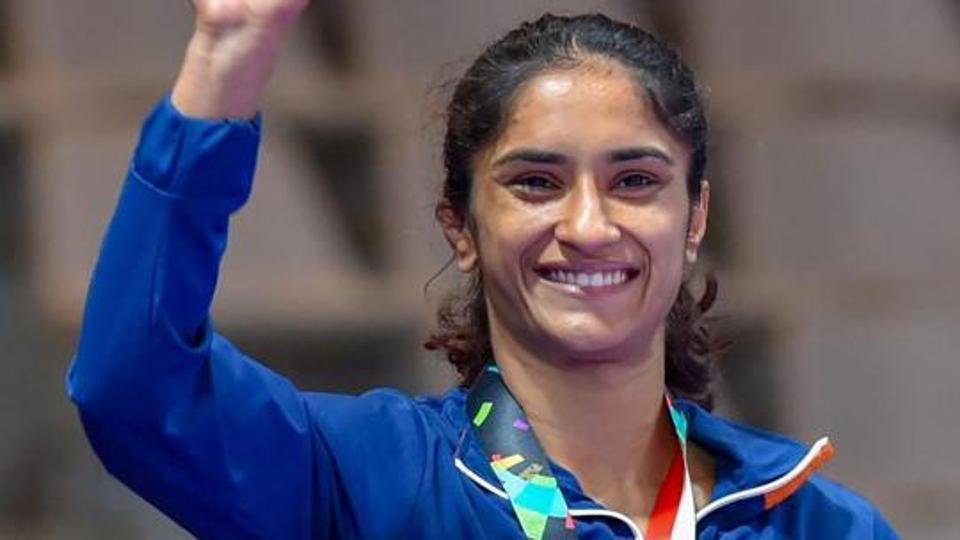 Vinesh Phogat qualifies for 2020 Olympics