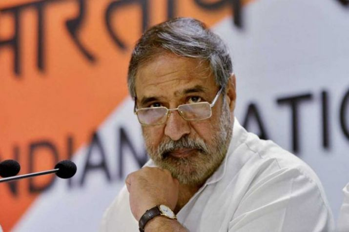 Congress Rajya Sabha MP Anand Sharma