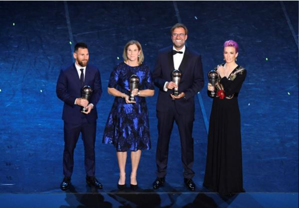 The Best FIFA Football Awards - Teatro alla Scala, Milan, Italy