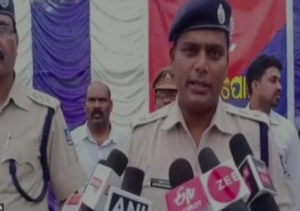 B Gangadhar, Superintendent of Police while speaking to the reporters