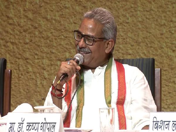 RSS functionary Krishna Gopal
