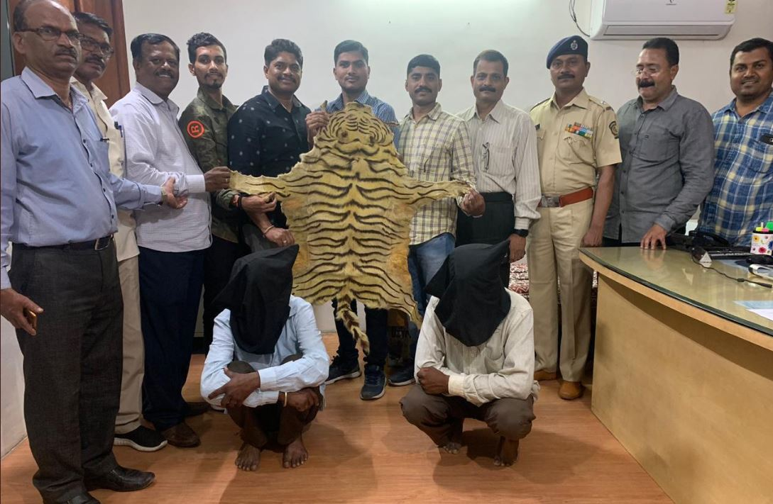 Two accused were arrested by the crime branch of Pune Police