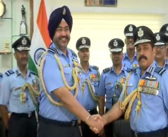 Air Marshal RKS Bhadauria  takes over as new IAF chief