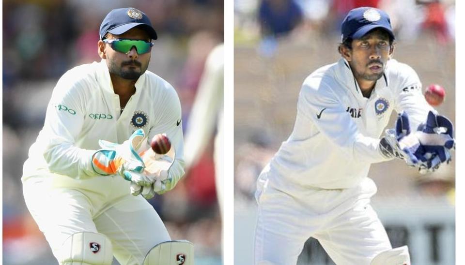 Left to Right: Rishabh Pant and Wriddhiman Saha